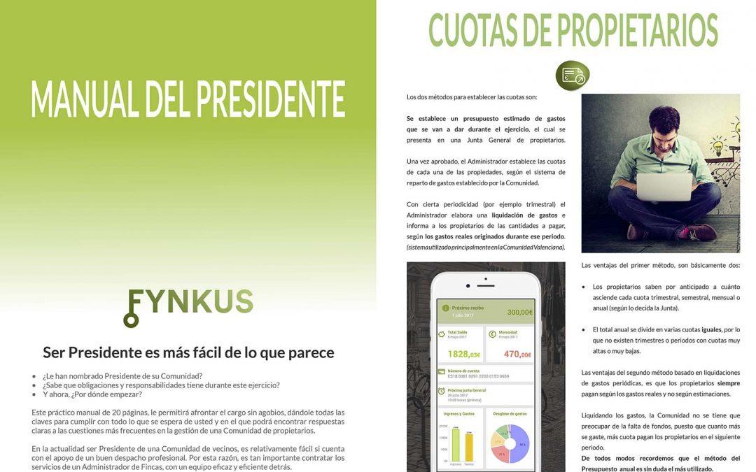 Manual del Presidente de la comunidad